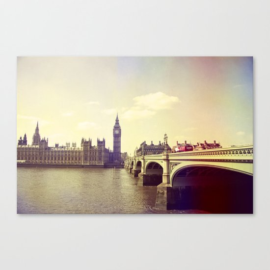 London Impressions II Canvas Print