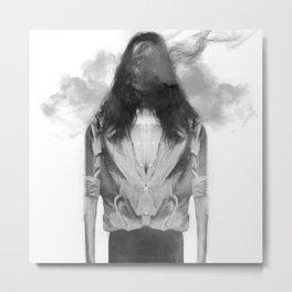 Faceless Metal Print