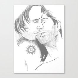 erotically codependent Canvas Print