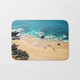 A walk on the beach Bath Mat