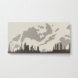 Spewscape Metal Print