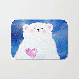Little Love Bear Bath Mat