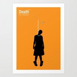 Death by Vector Art Print
