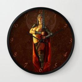 Espada Wall Clock