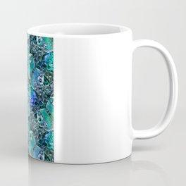 Butterflies In Blue Coffee Mug