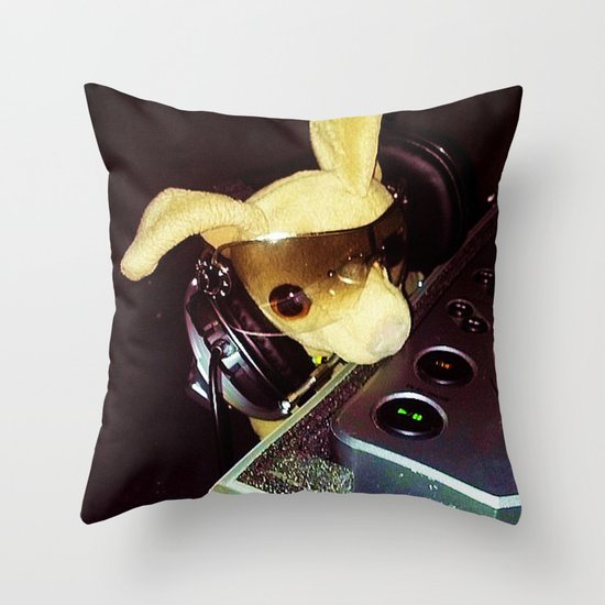 DJ Chalupa Throw Pillow