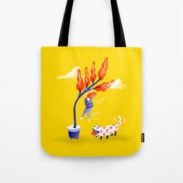 The New Dog Tote Bag