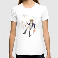 aries T-shirts featuring Aries by LordofMasks