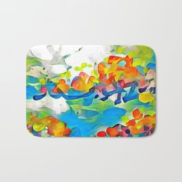 Splashes Of Color Rio de Janeiro by CheyAnne Sexton Bath Mat