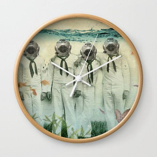 octopuses garden Wall Clock