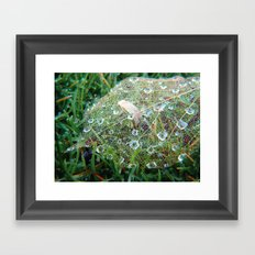 Skeletal Remains Framed Art Print