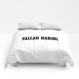 Yallah Habibi arabic Comforters