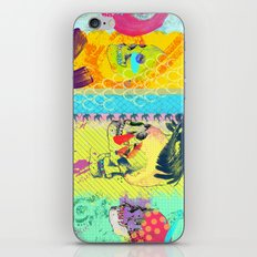 Candy knife fight iPhone & iPod Skin