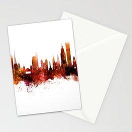 Sao Paulo Skyline Brazil Stationery Cards