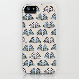 Madam Butterfly Print iPhone Case