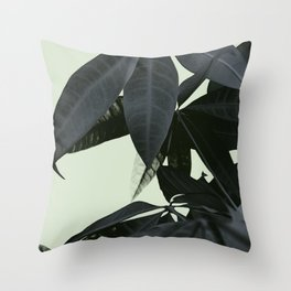 Pachira Aquatica #3 #foliage #decor #art #society6 Throw Pillow