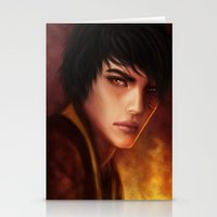 zuko Stationery Cards featuring Zuko by jasric