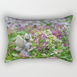 Flower Fairy Rectangular Pillow