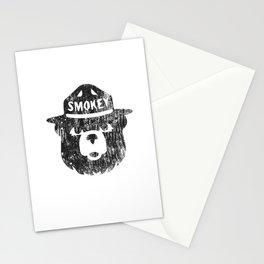 Smokey Bear Distressed Logo Stationery Cards