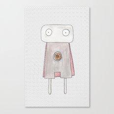 Robot superhero Canvas Print