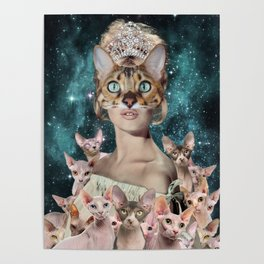 Cat Lady Poster