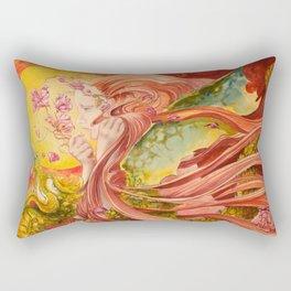 Once Upon a Dragon Rectangular Pillow