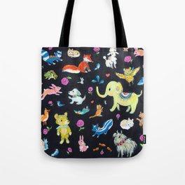 Colorful animals Tote Bag