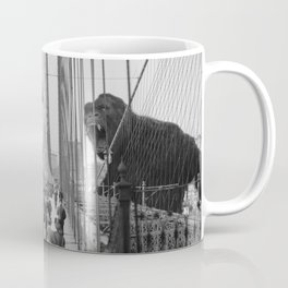 Old Time Godzilla vs. King Kong Coffee Mug