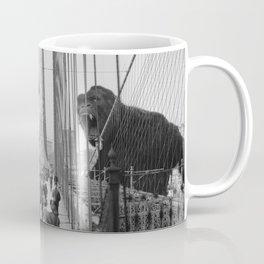 Old Time Godzilla vs. King Kong Kaffeebecher