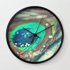 Peacock's Dream Wall Clock
