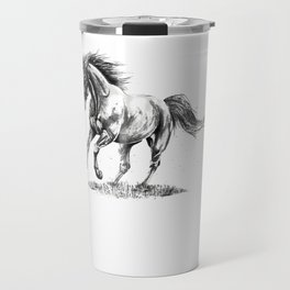 Running Horse Horseback Riding Horse Lover Travel Mug