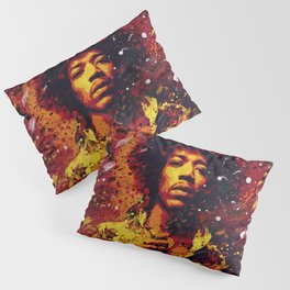 Jimi Hendrix | Pop Art | Old School Collection Pillow Sham