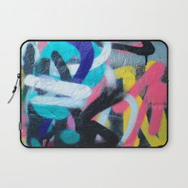 Street Art Graffiti Photography by Dominic Joyce Laptop Sleeve