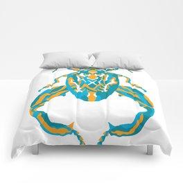 Sagra Beetle _ Psychedelic bug 3.2 _ Besouro Independente Comforters