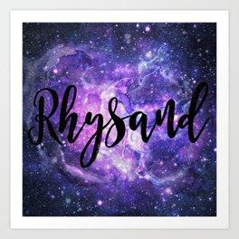 Rhysand Art Print