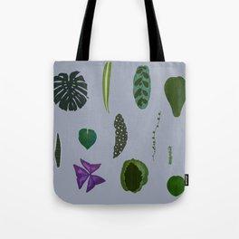 A non-scientific botanical investigation of the indoor plant. Tote Bag