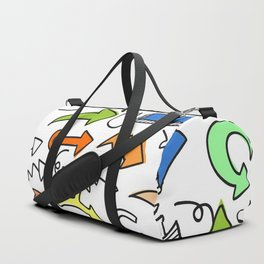 Funky Arrows Duffle Bag