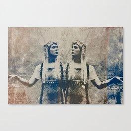 Double Trouble Canvas Print