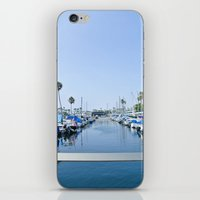 boats iPhone & iPod Skins featuring Boats by Tracy Trinh