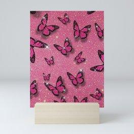 Sparkle Butterflies Mini Art Print