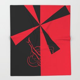 The Red Mill ~ From Sinners And Saints ~ Bohème Throw Blanket