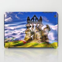 downton abbey iPad Cases featuring Whitby Abbey by TK Photography