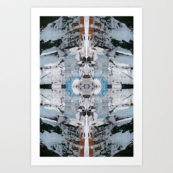 Metria 16 (Symmetria) Art Print