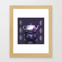 Putting a Spin on It Framed Art Print