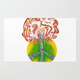 Peace Tree Rug