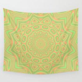 Funky Kaleidoscope 2 Wall Tapestry