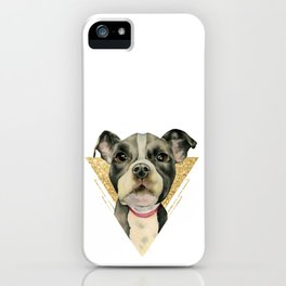Puppy Eyes 3 iPhone Case