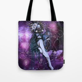Interstellar Angel Tote Bag