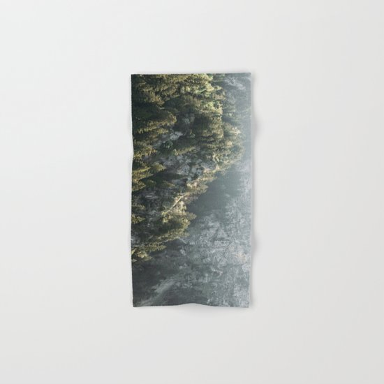 Mountain Lights - Landscape Photography Hand & Bath Towel