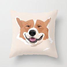 my dog Throw Pillow